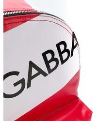 Dolce & Gabbana Logo Panelled Backpack