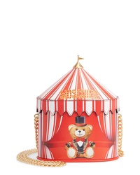 Moschino Circus Tent Leather Shoulder Bag