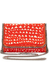 Stella McCartney Falabella Crossbody Clutch Bag Red