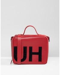 Hugo Handbag With Textured Logo Combi