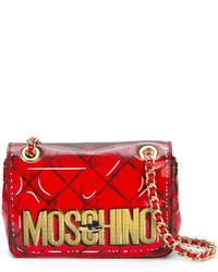 Moschino trompe loeil logo shoulder bag medium 775174