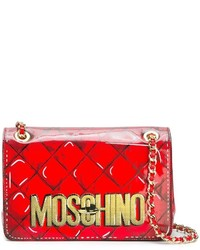 Moschino Trompe Loeil Logo Shoulder Bag