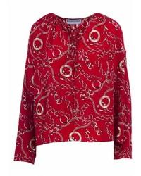 Balenciaga Printed Blouse