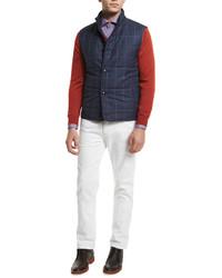 Mini vespa print sport shirt red medium 603301