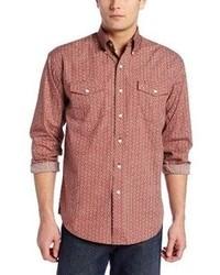 Stetson Roman Foulard Print Button Front Shirt