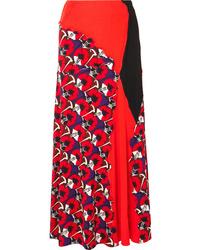 Marni Patchwork Printed Jersey Maxi Skirt