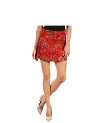 Love Moschino Wg B95 00 T 7644 Skirt Skirt Redorange Pattern