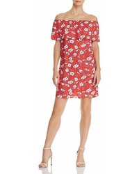 Vero Moda Molly Off The Shoulder Floral Dress