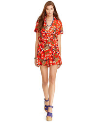 Polo Ralph Lauren Hawaiian Print Belted Romper