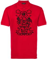 Alexander McQueen Printed Polo Shirt