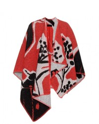 Burberry London England Wool And Cashmere Poncho