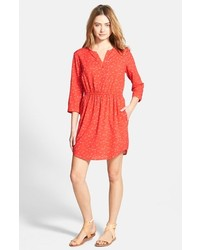 Ace Delivery Print Shirtdress