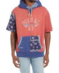 Ralph Lauren Short Sleeve Fleece Hoodie