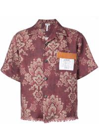 Loewe Floral Print Shirt