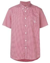MAISON KITSUNÉ Printed Short Sleeved Shirt