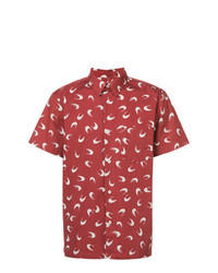 A.P.C. Printed Short Sleeved Shirt