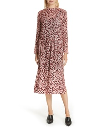 Rag & Bone Gia Devore Leopard Spot Dress