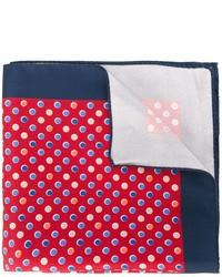 Kiton Dot Print Pocket Square