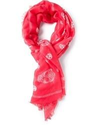 Skull print scarf medium 27816