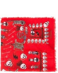 Voodoo skull scarf medium 640713