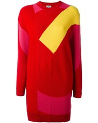 Kenzo K Intarsia Sweater Dress