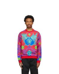 Versace Red Barocco Sweatshirt