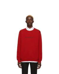 Givenchy Red Paris Sweatshirt