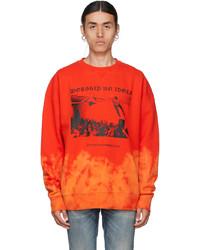 Stolen Girlfriends Club Red Wor No Idols Sweatshirt