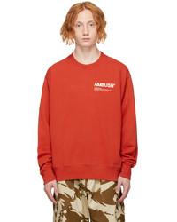 Ambush Red Workshop Sweatshirt