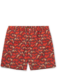 Tod's Mid Length Printed Swim Shorts