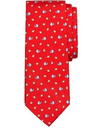 Brooks Brothers Football Print Tie