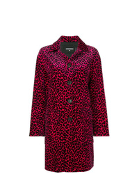 Dsquared2 Leopard Print Trench Coat