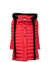 Miu Miu Contrast Trim Padded Jacket