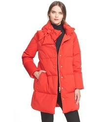 Kate Spade New York Funnel Neck Puffer Coat