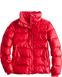 Red puffer jacket original 4181663