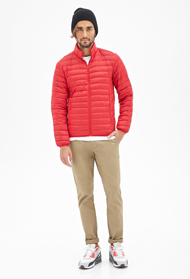 21men 21 Quilted Puffer Jacket | Where to buy & how to wear : quilted down jacket mens - Adamdwight.com