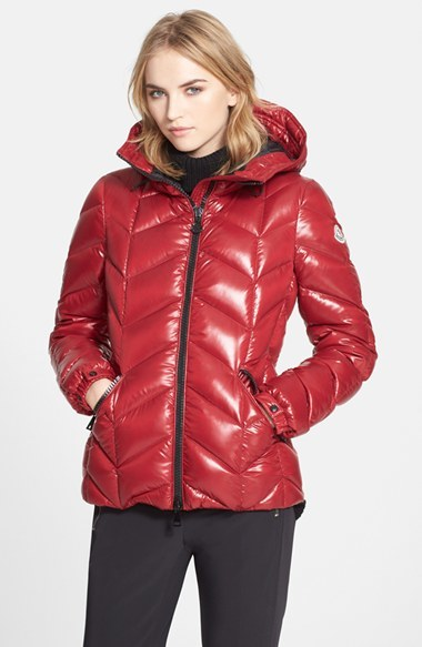953ba1c88 $1,300, Moncler Badete Hooded Down Puffer Coat
