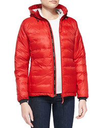 6564d104256c ... Canada Goose Camp Hooded Packable Puffer Jacket Red ...