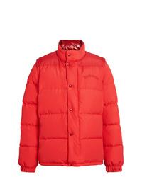 Burberry Detachable Sleeve Down D Puffer Jacket