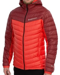 Peak Performance Frost Down Hooded Ski Jacket 700 Fill Power