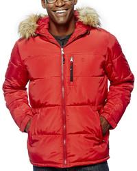 Izod Hooded Puffer Jacket