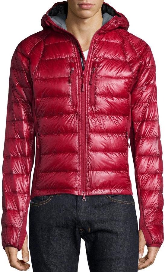Canada Goose HyBridge Red Jacket