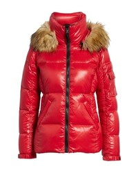 S13/Nyc Kylie Faux Gloss Puffer Jacket