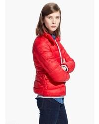 Mango Outlet Foldable Feather Down Jacket