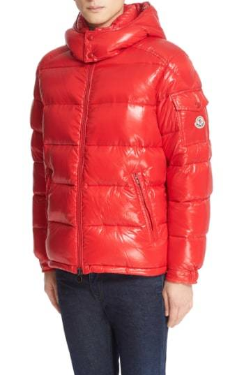 b16aa45045c6 Moncler Maya Lacquered Down Jacket   Where to buy   how to wear