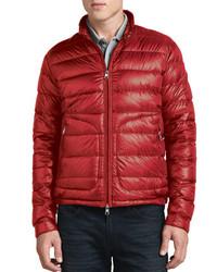 Moncler Acorus Lightweight Puffer Jacket Red