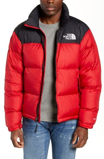 2dd45fa25474c ... Red Puffer Jackets The North Face Nuptse 1996 Packable Quilted Down  Jacket