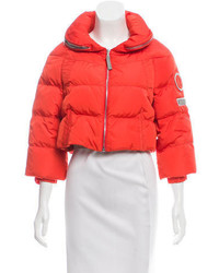 Prada Sport Short Down Jacket