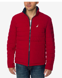 Nautica Quilted Stretch Reversible Jacket