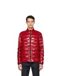 Moncler Red Down Agar Jacket